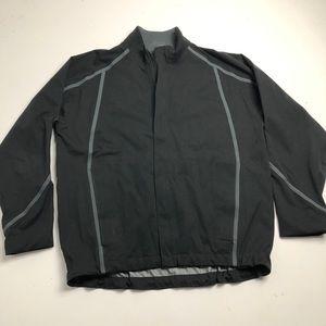 Nike Golf Fit Storm Jacket Mens XL Black Rain